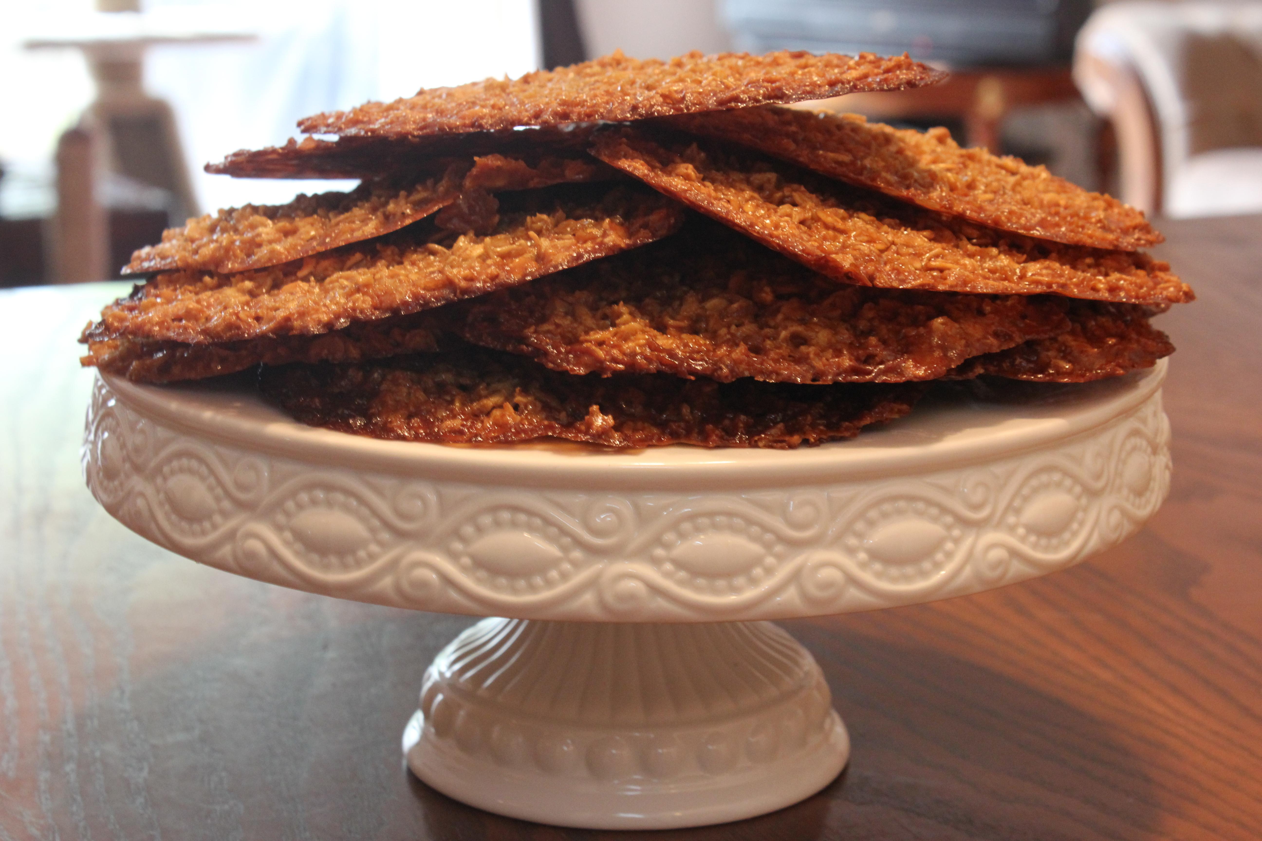 oatmeal lacies
